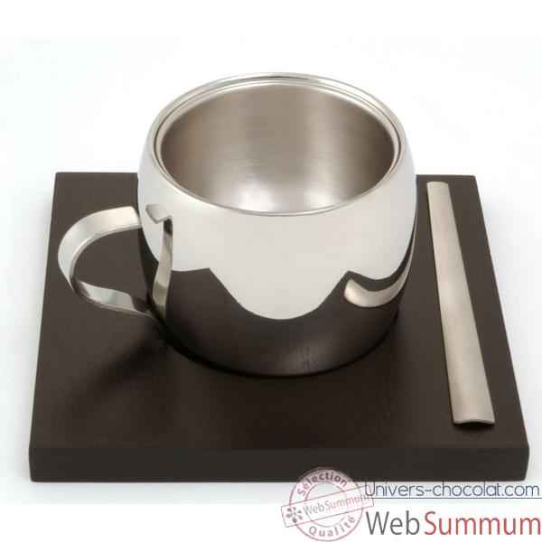 autrement chocolat tasse expresso tramontina inox dans tasse chocolat. Black Bedroom Furniture Sets. Home Design Ideas