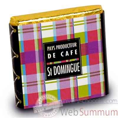 Chocolat Collection Pays producteurs de café Monbana -11120171