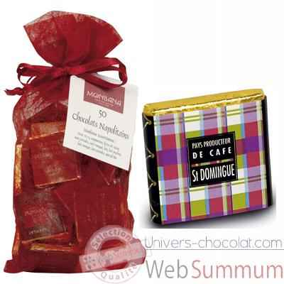 Chocolat Collection Pays producteurs de café Monbana, sachet chrysalide -11120149