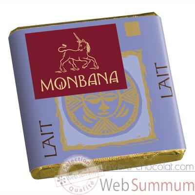 Video Chocolat Napolitain Lait 33% Monbana -11140007