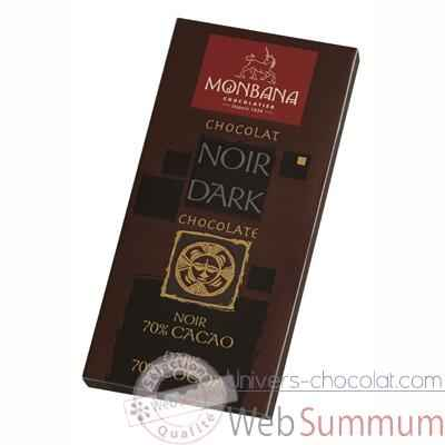 Video Presentoir 12 tablettes chocolat noir 70% Monbana -11910004