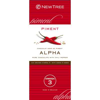 Newtree-Chocolat Alpha Noir Piment, tablette 80g-341873
