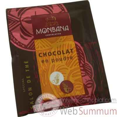 "Video Dosette de chocolat en poudre ""Special Salon de The"" Monbana -121M054"