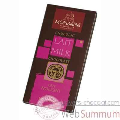 Video Presentoir 12 tablettes chocolat lait nougat Monbana -11910003