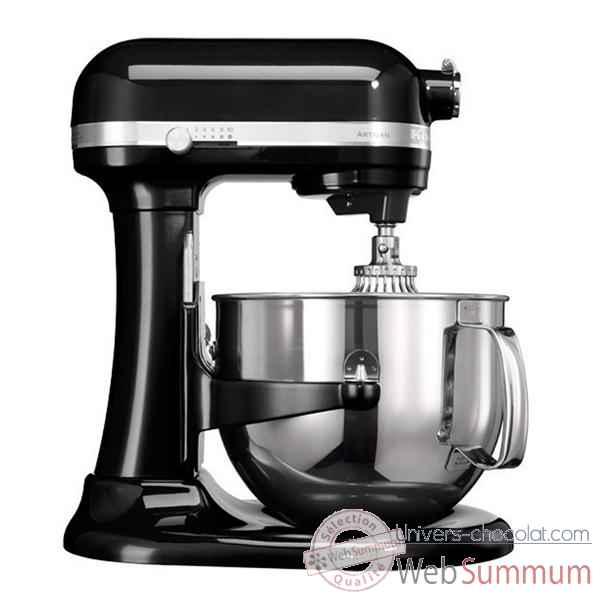Kitchenaid robot 6.9 l bol inox noir onyx - artisan mix with the best Cuisine -8674