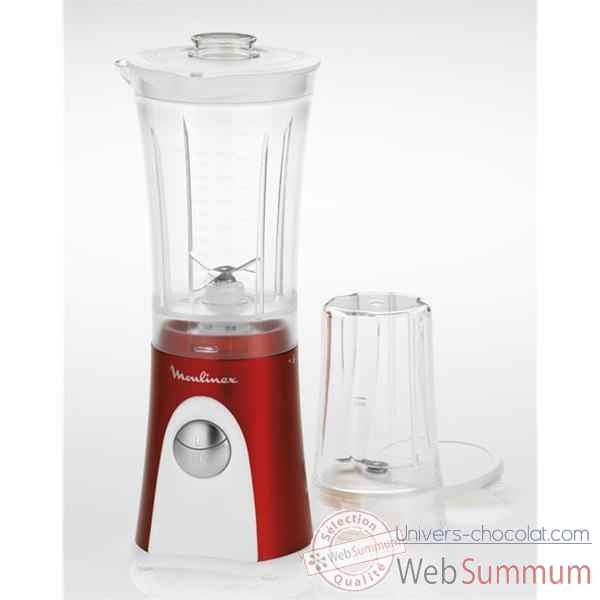 Moulinex blender mini multi deluxe rouge rubis -002347