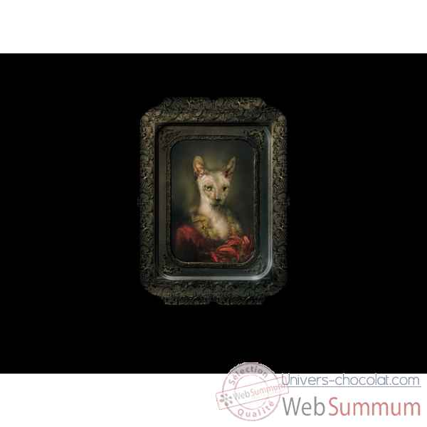 Visconti plateau tableau rectangulaire chat irina ibride