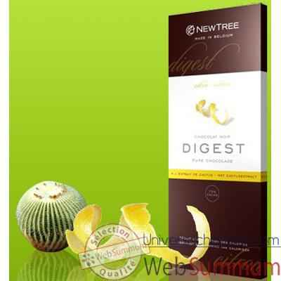 Newtree-Chocolat Noir Digest Citron, tablette 80g-340142