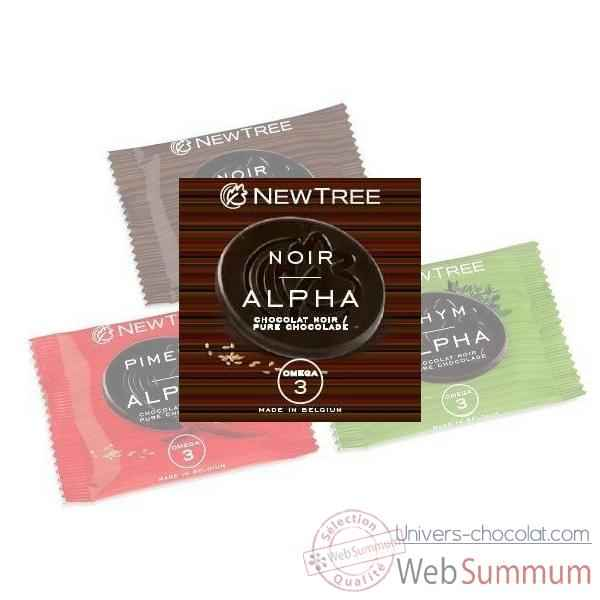 Video Lot 24 Disques Pastilles Alpha Newtree Noir 73 % -P10AF042119