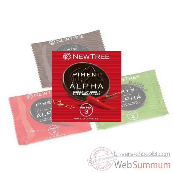 Lot 24 disques Pastilles Alpha Newtree Noir Piment -P10AF042319