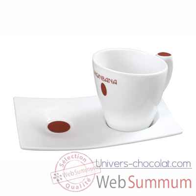 Video 6 Tasses design en porcelaine Monbana -151042